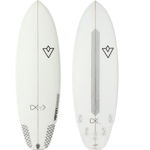 High performance rental surfboard